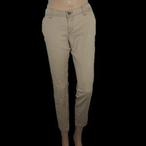 Hollister Khakis Skinny Jean's Size 3